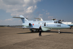 くるくもるさんが、茨城空港で撮影した航空自衛隊 U-125A(Hawker 800)の航空フォト(写真)