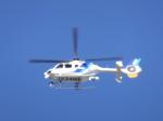 あしゅーさんが、福岡空港で撮影したオールニッポンヘリコプター EC135T2の航空フォト(飛行機 写真・画像)
