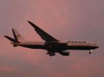 あしゅーさんが、福岡空港で撮影したオレンエア 777-2Q8/ERの航空フォト(飛行機 写真・画像)