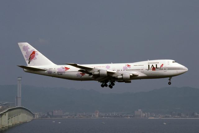 日本航空 Boeing 747-200 JA8111...