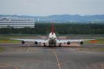リョウさんが、新千歳空港で撮影した日本航空 747-346の航空フォト(写真)