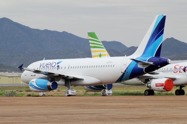 ZONOさんが、フェニックス・グッドイヤー空港で撮影したAWAS A319-132の航空フォト(飛行機 写真・画像)
