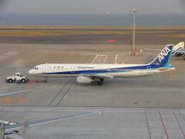 まっつーさんが、羽田空港で撮影した全日空 A321-131の航空フォト(飛行機 写真・画像)