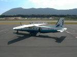 まっつーさんが、神津島空港で撮影した新中央航空 228-212の航空フォト(写真)