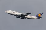 くるくもるさんが、羽田空港で撮影したルフトハンザドイツ航空 747-430の航空フォト(写真)