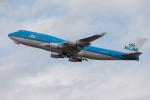 くるくもるさんが、成田国際空港で撮影したKLMオランダ航空 747-406の航空フォト(写真)
