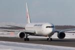 くるくもるさんが、新千歳空港で撮影した日本航空 767-346/ERの航空フォト(写真)