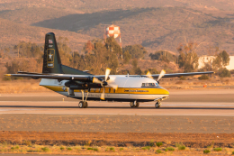 Y-Kenzoさんが、ミラマー海兵隊航空ステーション で撮影したアメリカ陸軍 C-31A Troopship (F-27-400M)の航空フォト(写真)