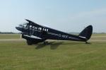 TKOさんが、ダックスフォード飛行場で撮影した不明 DH.89A Dragon Rapideの航空フォト(写真)