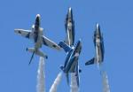 フジコンさんが、松島基地で撮影した航空自衛隊 T-4の航空フォト(写真)