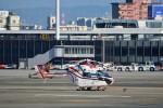 T.Sazenさんが、伊丹空港で撮影した朝日新聞社 MD 900/902の航空フォト(写真)