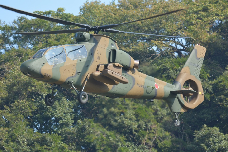 storyさんの陸上自衛隊 Kawasaki OH-1 (32630) 航空フォト
