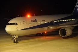 たか@B8さんが、山口宇部空港で撮影した全日空 767-381/ERの航空フォト(飛行機 写真・画像)