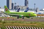 tsubasa0624さんが、成田国際空港で撮影したS7航空 A320-214の航空フォト(写真)