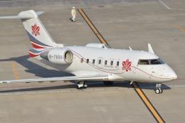 tsubasa0624さんが、羽田空港で撮影した中一航空 CL-600-2B16 Challenger 604の航空フォト(飛行機 写真・画像)