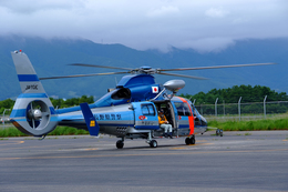 zero1epさんが、松本空港で撮影した長野県警察 AS365N3 Dauphin 2の航空フォト(飛行機 写真・画像)
