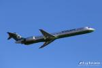 ロール堂島さんが、岡山空港で撮影したエバー航空 MD-90-30の航空フォト(写真)