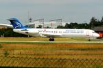 Tomo-Papaさんが、フランクフルト国際空港で撮影したモンテネグロ航空 100の航空フォト(写真)