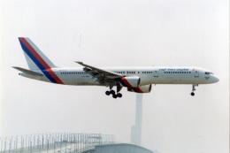 amagoさんが、関西国際空港で撮影したロイヤル・ネパール航空 757-2F8Cの航空フォト(飛行機 写真・画像)