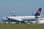 パンダさんが、成田国際空港で撮影したルフトハンザドイツ航空 A340-313Xの航空フォト(写真)