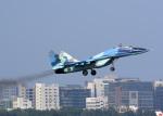 RA-86141さんが、シャージャラル国際空港で撮影したバングラデシュ空軍 MiG-29UBの航空フォト(写真)