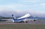 toshirouさんが、函館空港で撮影した全日空 747SR-81の航空フォト(写真)
