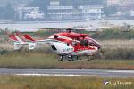 ロール堂島さんが、岡南飛行場で撮影した神戸市航空機動隊 BK117C-2の航空フォト(写真)
