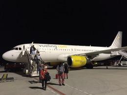 maixxさんが、グラナダ空港で撮影したブエリング航空 A320-214の航空フォト(飛行機 写真・画像)