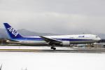 カワPさんが、函館空港で撮影した全日空 767-381/ERの航空フォト(飛行機 写真・画像)