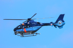 パンダさんが、入間飛行場で撮影した埼玉県警察 EC135P2+の航空フォト(写真)