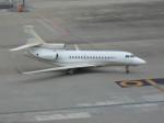 ばっきーさんが、羽田空港で撮影したレリガーレ Falcon 7Xの航空フォト(写真)