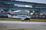 NERVさんが、福岡空港で撮影した日本個人所有 A36 Bonanza 36の航空フォト(飛行機 写真・画像)