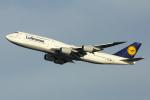HND Spotter Rei U.さんが、羽田空港で撮影したルフトハンザドイツ航空 747-830の航空フォト(写真)