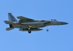 じーく。さんが、嘉手納飛行場で撮影したアメリカ空軍 F-15C-40-MC Eagleの航空フォト(飛行機 写真・画像)