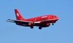 れんさんさんが、新千歳空港で撮影したオーロラ 737-2J8/Advの航空フォト(写真)