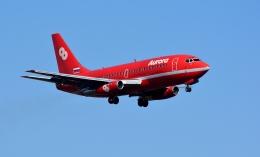 れんさんさんが、新千歳空港で撮影したオーロラ 737-2J8/Advの航空フォト(飛行機 写真・画像)