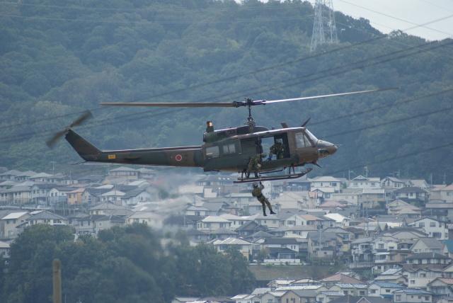 ヒラカメさんが、海田市駐屯地で撮影した陸上自衛隊 UH-1Jの航空フォト(飛行機 写真・画像)