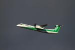 tupolevさんが、新千歳空港で撮影したANAウイングス DHC-8-402Q Dash 8の航空フォト(写真)