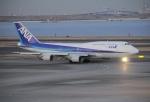 海人9さんが、羽田空港で撮影した全日空 747-481(D)の航空フォト(写真)