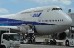 海人9さんが、那覇空港で撮影した全日空 747-481(D)の航空フォト(写真)