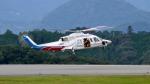mojioさんが、静岡空港で撮影した山梨県防災航空隊 S-76Bの航空フォト(飛行機 写真・画像)