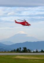 mojioさんが、静岡空港で撮影した埼玉県防災航空隊 AW139の航空フォト(飛行機 写真・画像)