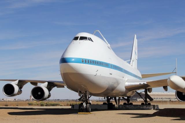アメリカ航空宇宙局 Boeing 747S...