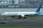 tsubasa0624さんが、羽田空港で撮影したガルーダ・インドネシア航空 777-3U3/ERの航空フォト(飛行機 写真・画像)