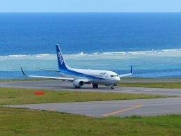 frankさんが、新石垣空港で撮影した全日空 737-881の航空フォト(飛行機 写真・画像)