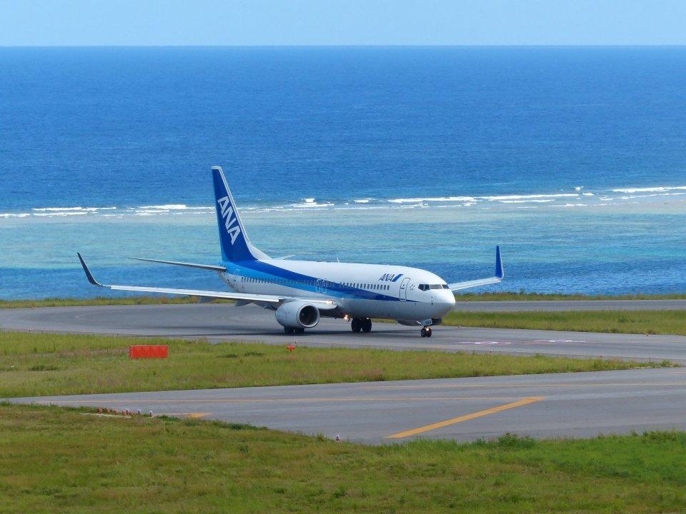 frankさんの全日空 Boeing 737-800 (JA56AN) 航空フォト
