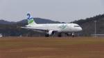 Joe0217さんが、広島空港で撮影したスカイウィングス・アジア・エアラインズ A320-212の航空フォト(写真)