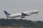 ANA744Foreverさんが、成田国際空港で撮影したユナイテッド航空 777-222の航空フォト(飛行機 写真・画像)