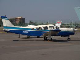 Mame @ TYOさんが、調布飛行場で撮影した日本個人所有 PA-32R-301T Turbo Saratoga SPの航空フォト(飛行機 写真・画像)