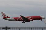 airdrugさんが、関西国際空港で撮影したエアアジア・エックス A330-343Xの航空フォト(写真)
